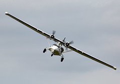 Catalina (Bernie Condon) Tags: uk rescue plane vintage flying catalina aircraft aviation military amphibian airshow consolidated ww2 preserved flyingboat oxfordshire abingdon warbird warplane airdisplay 2016 usaaf