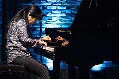 Satoko Fujii live at Cortez, Mito (Japan), 28 Apr 2016 -1000034 (megumi_manzaki) Tags: musician piano jazz improvisation pianist freejazz