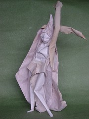 Ritual Steps  Spring ; Final version (Zenshiro Toshinao) Tags: art japanese dance spring origami figure paperfolding