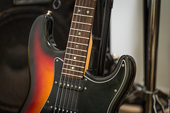 Sunburst (Sibesh Dangol) Tags: music 6 guitar deluxe fender strings sunburst