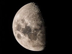 Moon - 66.4% Waxing Gibbous (djryan78) Tags: shadow summer moon night canon outdoor space craters telescope crater astrophotography astronomy dslr lunar gibbous waxing solarsystem refractor 70d skywatcher ed100 canon70d skywatchered100