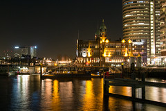 Rotterdam_9402 (Maarten's fotografie & meer) Tags: city evening rotterdam hal hotelnewyork rijnhaven