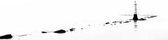 Study in light (pootlepod) Tags: light blackandwhite lighthouse seascape water monochrome rocks canon60d