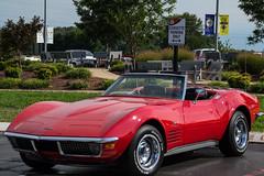 <- Corvette Parking Only -> (vynsane) Tags: kentucky corvette nationalcorvettemuseum bowlinggreenky