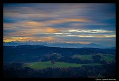 WINTER WITHOUT SNOW (EnzoLopardoPictures) Tags: winter sunset clouds forest landscape evening abend sonnenuntergang outdoor natur feld himmel wolken hills berge landschaft wald afterglow swissalps hügel tösstal schweizeralpen enzolopardo fujixt1 mouains