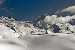 Winter paradise , a view from the Gornergrat (Zermatt, Switzerland.) No. 4200. (Izakigur) Tags: schnee winter white snow alps ice topf25 alpes liberty photography franklin schweiz switzerland europa europe flickr suisse suiza swiss feel free topf300 glacier gornergrat zermatt nikkor svizzera alpi wallis lepetitprince ch dieschweiz arethafranklin sussa suizo aretha lasuisse alpene d700 kantonwallis nikond700 nikkor2470f28 cantonduvalais suisia laventuresuisse jesuischarlie