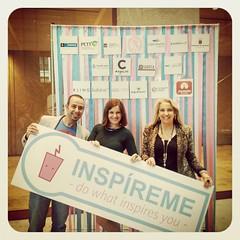 Presentando la Asoc. de Profesionales del Marketing de Tenerife en #InspirameTF