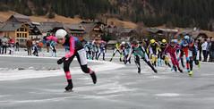 Weissensee AET 2016 - damespeloton (Andrea van Leerdam) Tags: winter austria oostenrijk weissensee ijs schaatsen peloton natuurijs aet2016