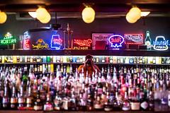 Lou's Pub and Package Store, Birmingham, Alabama (Thomas Hawk) Tags: usa selfportrait bar america birmingham neon unitedstates unitedstatesofamerica alabama thomashawk fav10 louspub louspubandpackagestore
