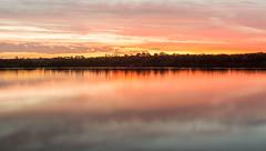 Sunset, West Coast (russellstreet) Tags: sunset newzealand cloud sun water southisland westcoast