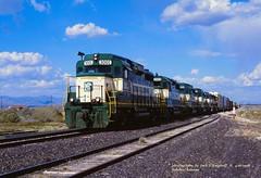 .AC 3001 wb 708, Salome  AZ 04-16-98 (jackdk) Tags: railroad train railway locomotive salome ac emd gp30 emdgp30 salomearizona arizonaandcalifornia