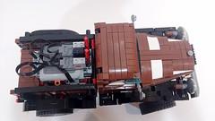 1946 Dodge Power Wagon 62.4 Trial Truck top (koffiemoc) Tags: car truck power lego dodge functions trial moc 624 lowlug