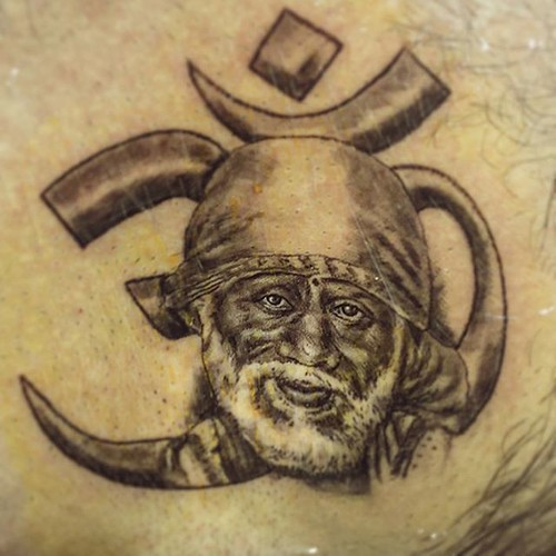 399c556b754d3 #saibaba #tattoo by #veerhegde at #eternalexpressiontattoos  #tattoobangalore #indiatattoo #tattooindia