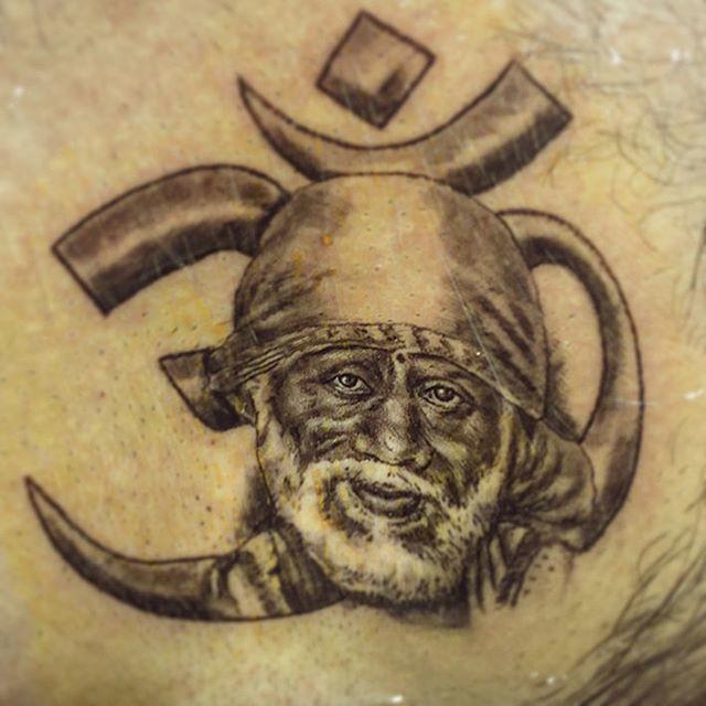 34048faaa #saibaba #tattoo by India`s Best Tattoo Artist in Bengaluru - Veer Hegde