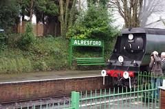 IMGP8393 (Steve Guess) Tags: uk england train engine loco hampshire steam gb locomotive alton westcountry ropley alresford hants wadebridge fourmarks 462 bulleid medstead 34007