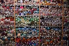(StevenParsons42) Tags: colour wool yarn bobbins