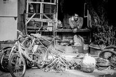 Bike Yard (Daniel Y. Go) Tags: street bw bike mono sony philippines pinas kalye rx100m4 sonyrx100m4