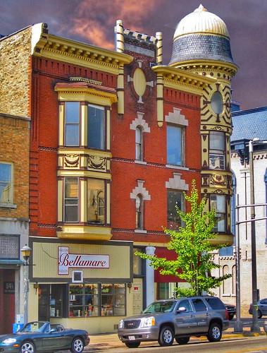 Janesville Wisconsin ~ Kent Block ~  Historic Building