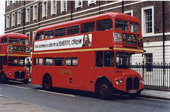 EastLondon-RMA8-NMY640E-Paddington-150797 (Michael Wadman) Tags: bea paddington routemaster eastlondon route15 britisheuropeanairways nmy640e rma8