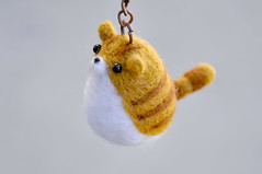 ocat004 (noristudio3o) Tags: orange pet cute cat woodland feline keychain kitty kawaii needlefelting etsy figurine amigurumi needlefelt needlefelted etsystore amigurumis tebby etsyseller etsyhunter etsyusa