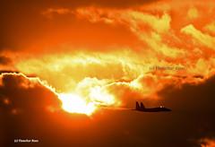 Thunder in the Sun! (Y Ruas) Tags: sunset sun israel force eagle air strike boeing idf f15 iaf jetwash israeldefenseforces israeliairforce