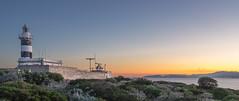 Faro di Calamosca (in explore 6/2/2016) (matteo_anedda) Tags: sardegna sunset sea panorama orange nature colors landscape faro amazing tramonto mare pentax blu natura stunning cagliari paesaggio 2040 calamosca k3ii