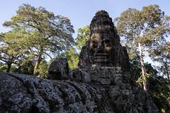 Angkor Thom - Angkor Wat (virtualwayfarer) Tags: travel tourism monument canon asian temple ruins asia cambodia southeastasia cambodian khmer buddhist exploring religion ruin streetphotography angkorwat unesco worldheritagesite explore thom fullframe dslr siemreap hindu tombraider mythology worldheritage indochina angkorthom siamreap 6d templecity travelphotography solotravel templecomplex independenttravel khmerempire cityoftemples alexberger virtualwayfarer prasatangkorwat