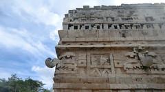 Mexico - Chichn Itz; Las Monjas Temple (Traveller-Reini) Tags: building architecture america mexico maya outdoor yucatan chichenitza ruine architektur historical gebude worldheritage middleamerica unescoheritage weltwunder new7wonders ancientplace astoundingimage