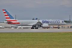 N174AA (thokaty) Tags: mia boeing americanairlines bos aa 757 bostonloganairport winglets oneworld b757 miamiinternationalairport b757200 oneworldalliance b752 aa29 n174aa