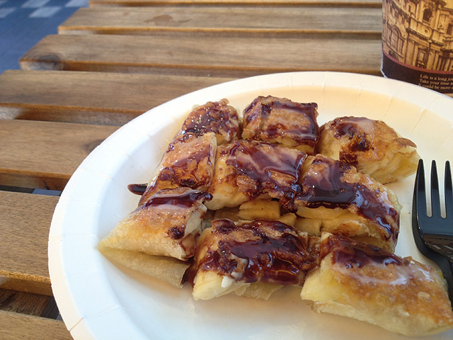 橘象香蕉煎餅 信義區美食