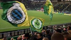 Some brand new flags @ Midden Noord! (Ezra070) Tags: brugge denhaag flags smartphone ado vlaggen 070 adodenhaag fcdenhaag clubbrugge fcdh middennoord
