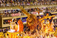 There Be Gryphons, Captain! (Rice Bear) Tags: carnival rio riodejaneiro parade carnaval griffin gryphon floats sambadromo 2016 mythicalcreatures sambadrome