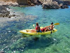 kayak-pareja
