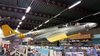 TS-11 Iskra, Indian Air Force, serial W1748, preserved inside the Aviation Hobby Shop.