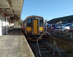 153305 Liskeard (Marky7890) Tags: station train cornwall railway gwr liskeard dmu class153 fgw supersprinter 153305 looevalleyline 2l77
