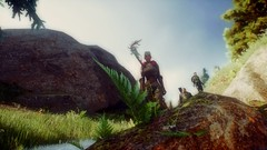 Walking the stream (diagk) Tags: dai deena hinterlands trevelyan dragonageinquisition valammar daicinematics