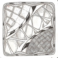 Tangle 224 (kraai65) Tags: doodle tangle zentangle zendoodle