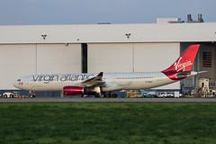 MSP G-VRAY (Moments In Flight) Tags: airplane aviation hangar msp maintenance airbus a330 spotting virginatlantic a333 kmsp a330300 minneapolisstpaulinternationalairport avgeek mspairport a330343 gvray