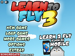 帝王企鵝學飛行3(Learn to Fly 3)