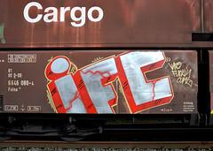 graffiti on freights (wojofoto) Tags: holland amsterdam graffiti nederland netherland ifc freighttrain cargotrain freighttraingraffiti wolfgangjosten wojofoto vrachttrein