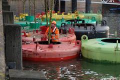 Aanleg Dobberbos (dorsman1970) Tags: water rotterdam kunst nederland bos landschap rijnhaven