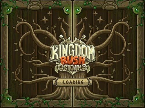 Kingdom Rush Origins Loading: screenshots, UI