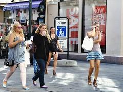 LvdH (837) (Lex van der Holland) Tags: oslo women streetphotography streetlife smoking