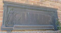 Buffalo County Roll of Honor (Ravenna, Nebraska) (courthouselover) Tags: nebraska libraries ne ravenna buffalocounty carnegielibraries wwimonuments worldwarimemorials