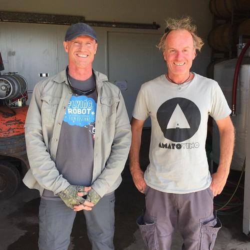Shayne and Brad, founders of @australiandff and @amatovino respectively