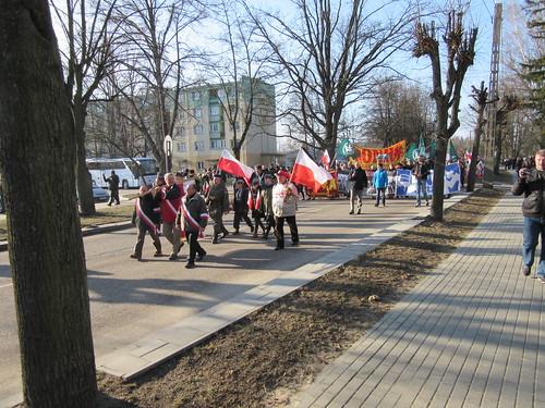 I Hajnowski Marsz Żołnierzy Wyklętych