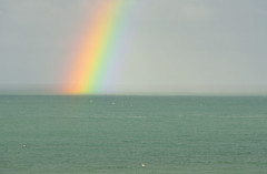 Ocean rainbow (Kevin Keatley1) Tags: storm coast rainbow cornwall approachingstorm southwestcoastpath mountsbay swcoastpath cornishcoast nikon70200 oceanrainbow nikond800 swcoast cameraprotection wildlifewatchingsupplies cameracovers cameraweatherprotection kevinkeatley wildlifewatchingsuppliescom c80cameracover
