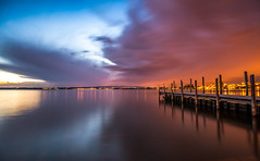 Colours (He_Da) Tags: longexposure sunset schweiz switzerland sonnenuntergang zug afterglow landingstage abendrot zugersee langzeitbelichtung abendstimmung bootssteg eveningmood lakezug