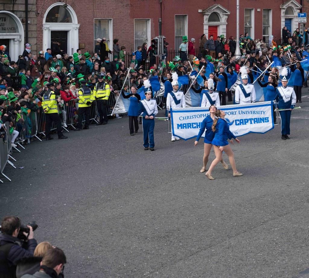 Christopher Newport University Marching Captains-112422