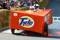 Tyde Machine (DJ Axis) Tags: road street red canada racetrack race hall team downtown  montral montreal cte du bull downhill beaver qubec transportation manmade vehicle 40 cart soapbox wacky centreville boite bote savon 2015 soapboxes quipes motorless bolides boiteasavon wackiest hurtled